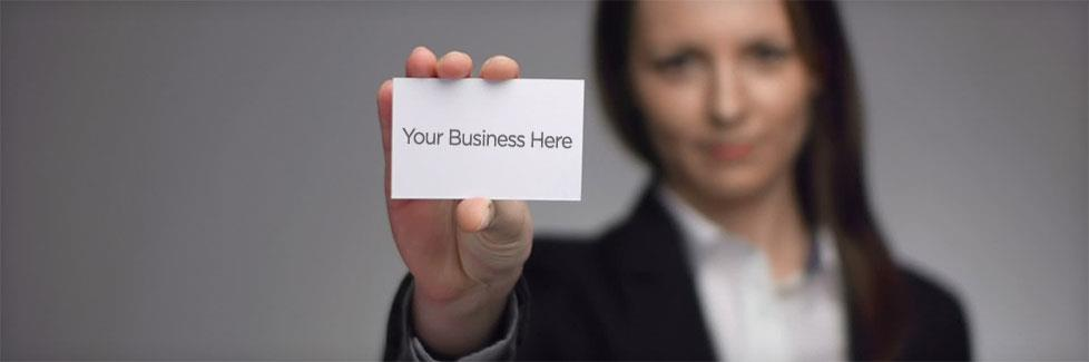 Wanted: Your Business Card